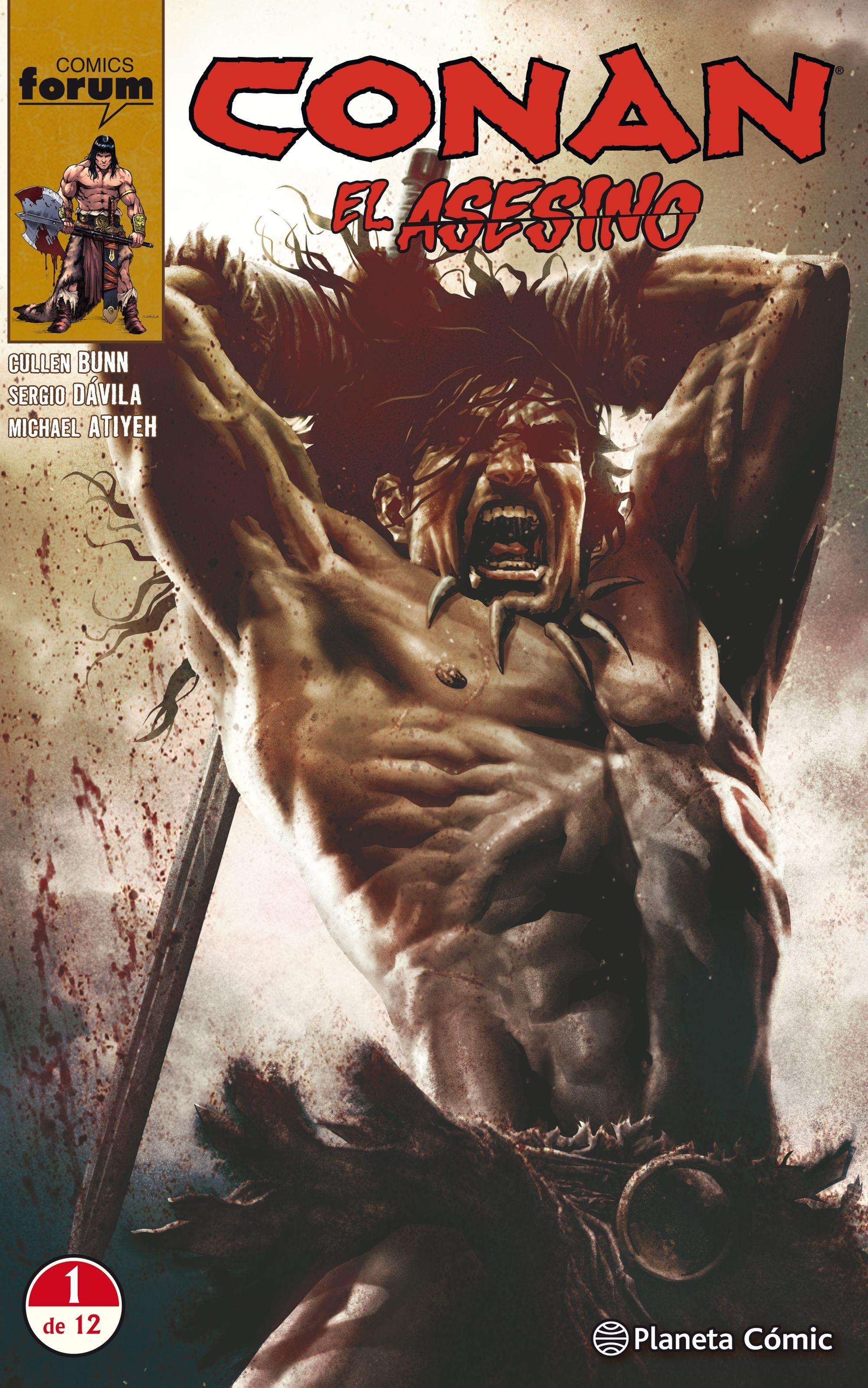 Conan el Asesino nº 01/12 - Cullen Bunn,Sergio Fernández Dávila - Planeta Deagostini Cómics