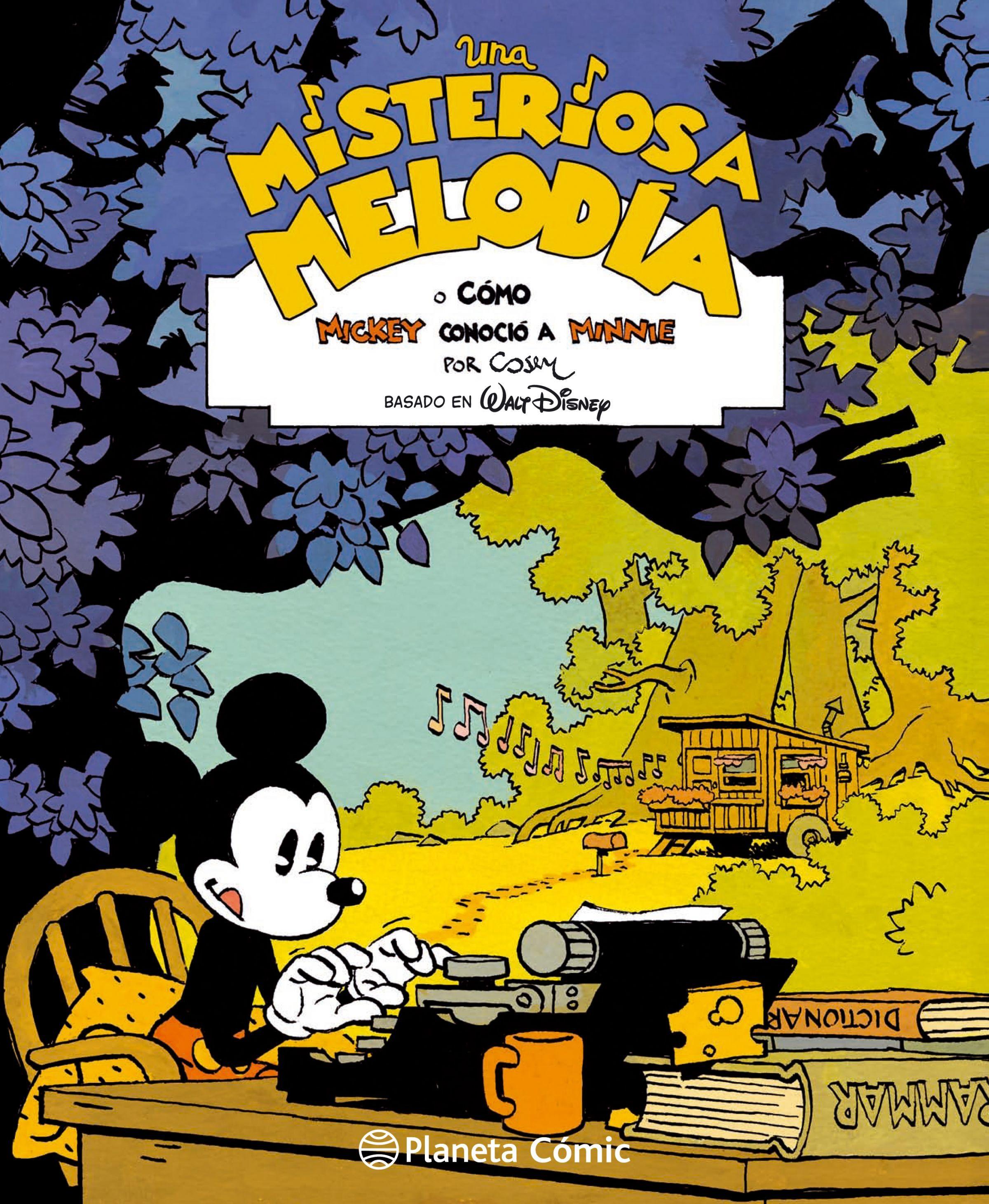 Disney una Misteriosa Melodía - Cosey - Planeta Deagostini Cómics