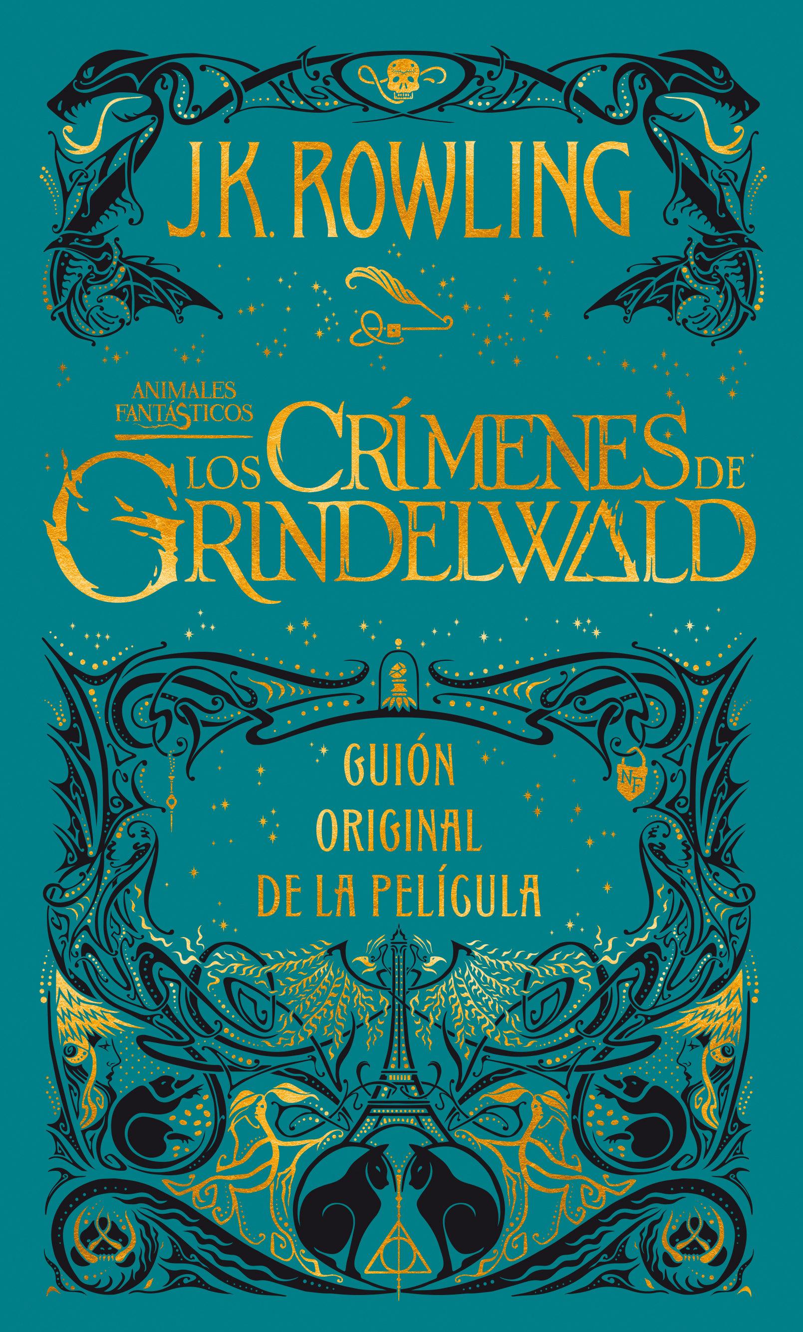 Crimenes de Grindelwald, los (Guion Cinematografico Animales Fantasticos 2) (Animales Fantasticos - J. K. Rowling - Salamandra
