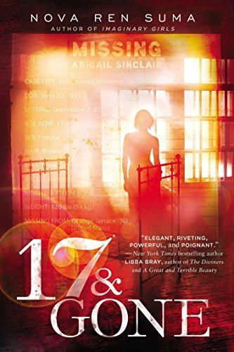 portada 17 & Gone (libro en Inglés)