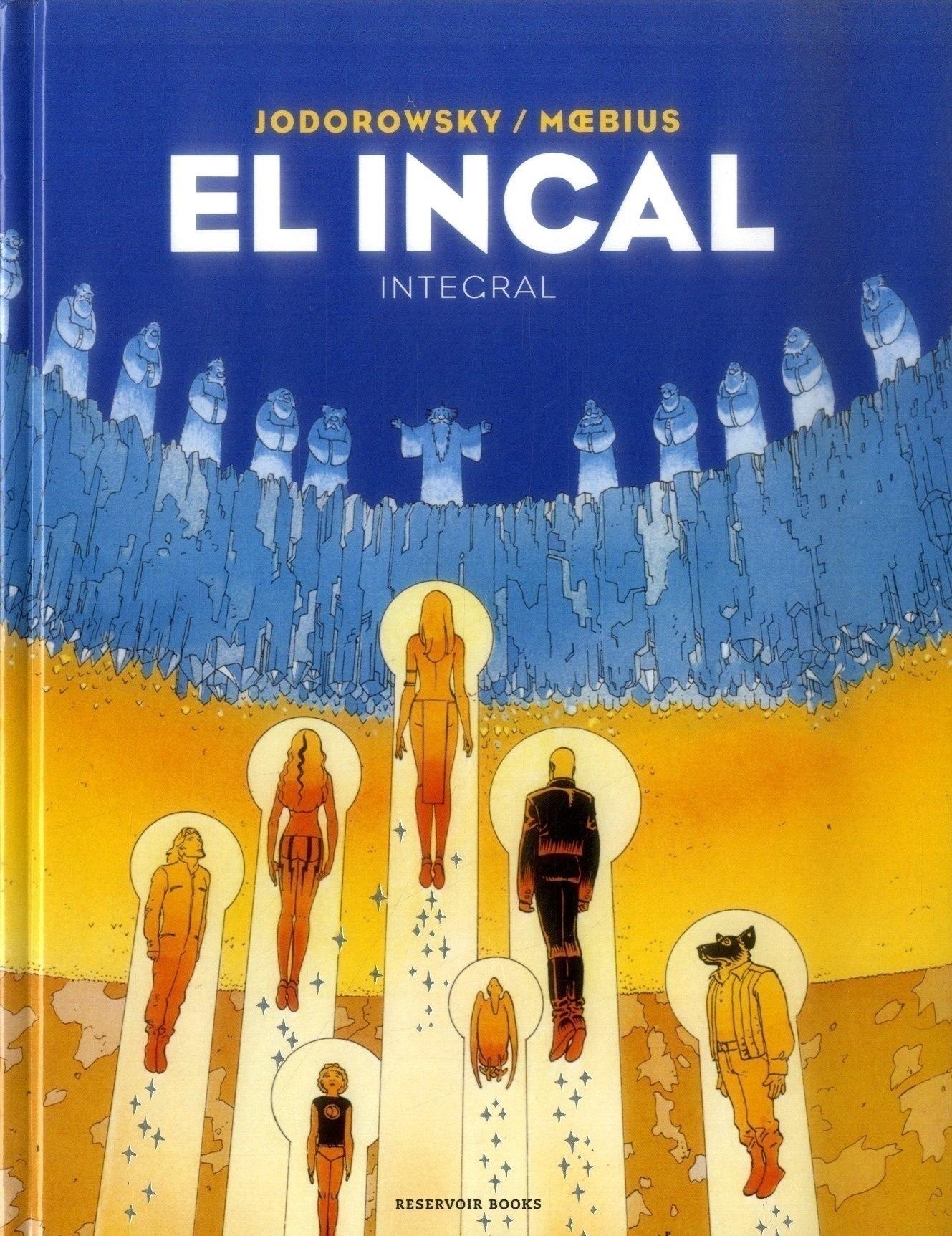 El Incal (Integral) - Alejandro Jodorowsky, Moebius - Reservoir Books