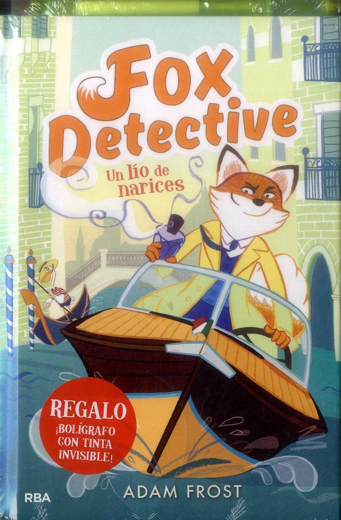 Fox Detective 2: Un lío de Narices (Peques) - Adam Frost - Rba Molino