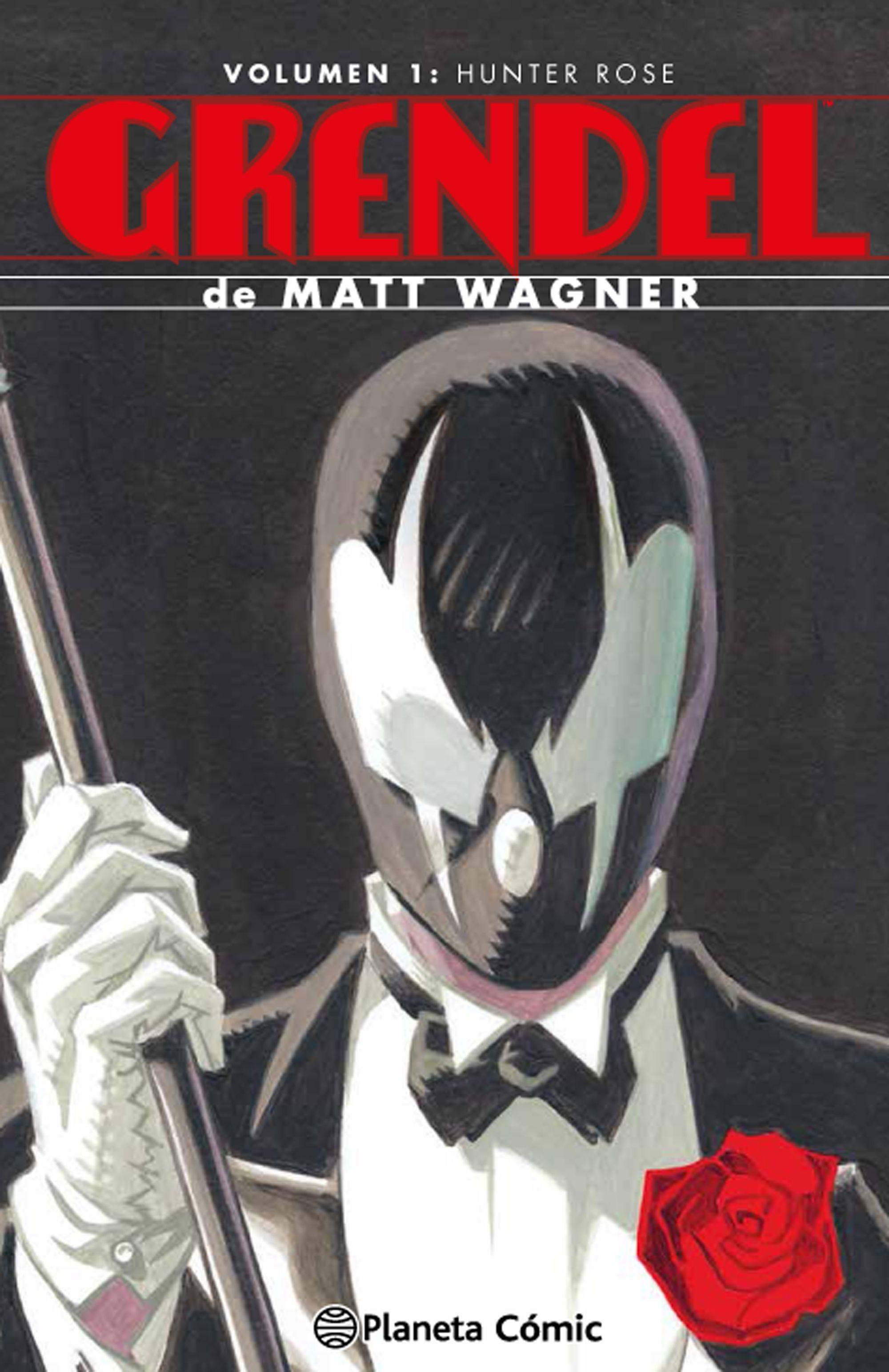 Grendel Omnibus nº 01/04 Hunter Rose - Matt Wagner - Planeta Deagostini Cómics