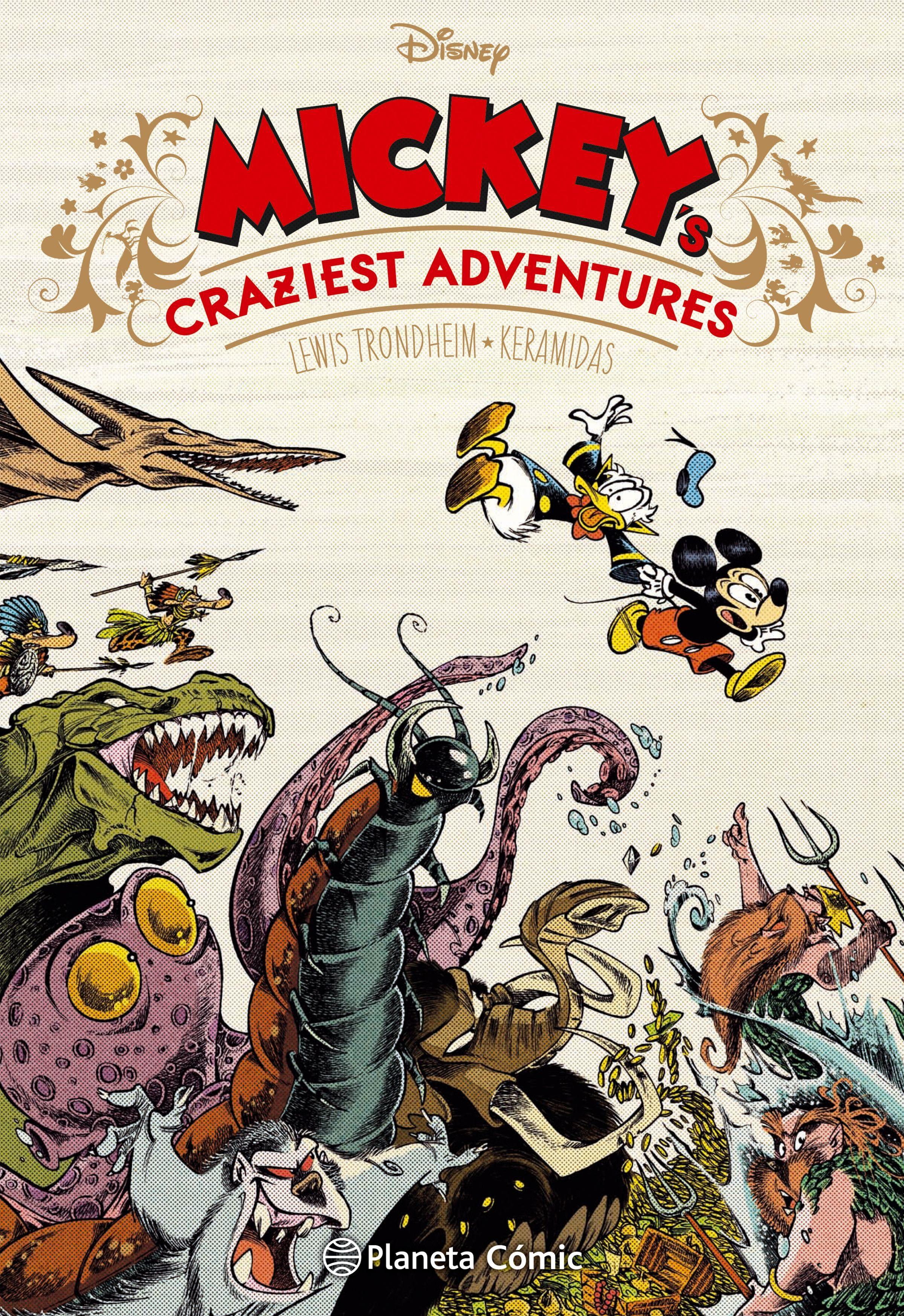 Disney Mickey´S Craziest Adventures - Aa. Vv. - Planeta Deagostini Cómics