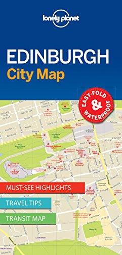 Lonely Planet Edinburgh City Map (Travel Guide)