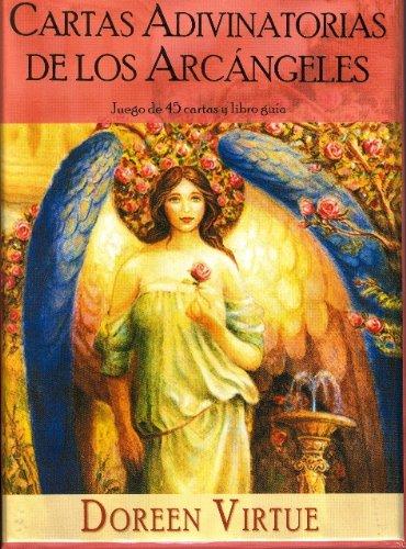 portada Cartas Adivinatorias de los Arcángeles - Juego de 45 Cartas y Libro de Guía