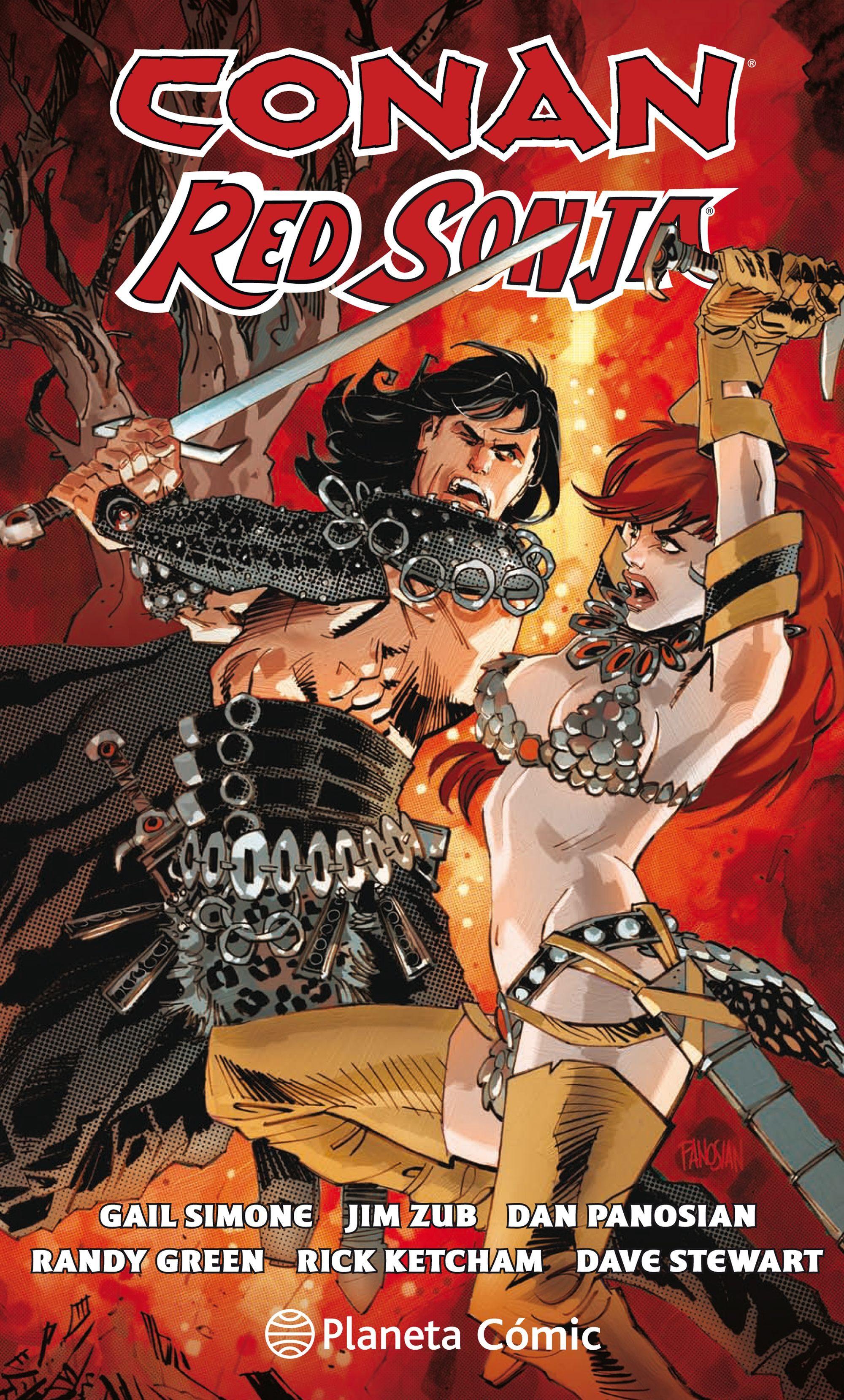 Conan y red Sonja - Gail Simone,Dan Panosian - Planeta Deagostini Cómics