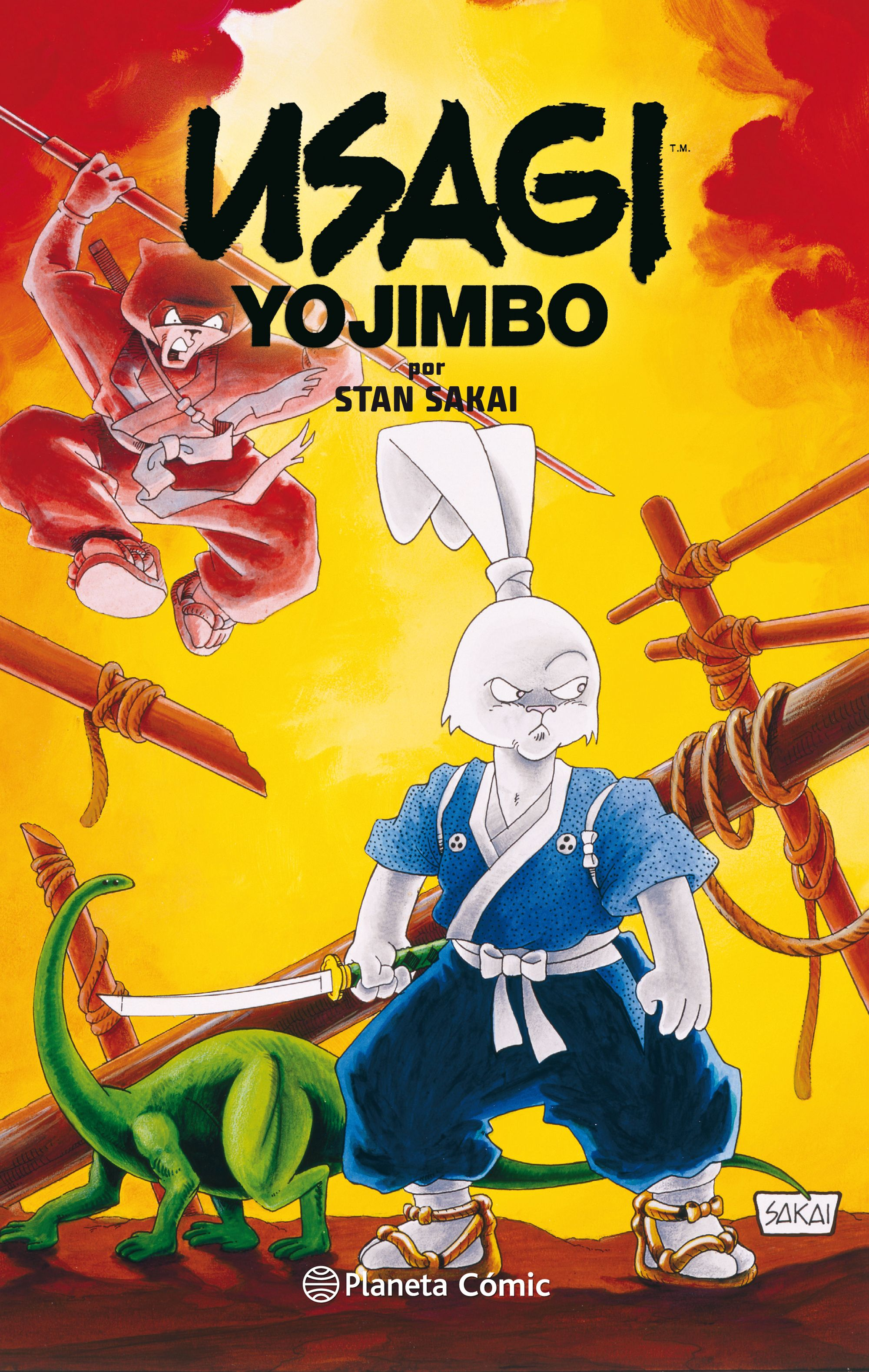 Usagi Yojimbo Fantagraphics Collection nº 02/02 - Stan Sakai - Planeta Deagostini Cómics